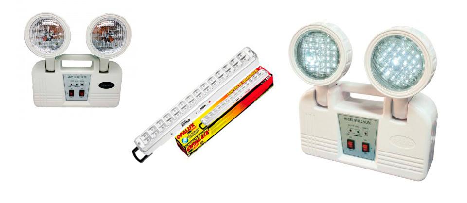 Luces de emergencia led extinguidores extintores for Luces emergencia led